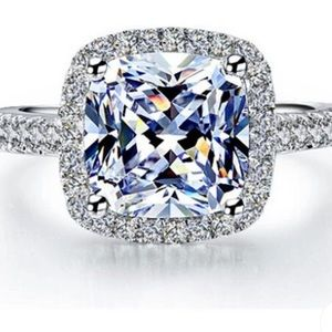 FREE w/ $115 purchase! S925 silver cubic zirconia